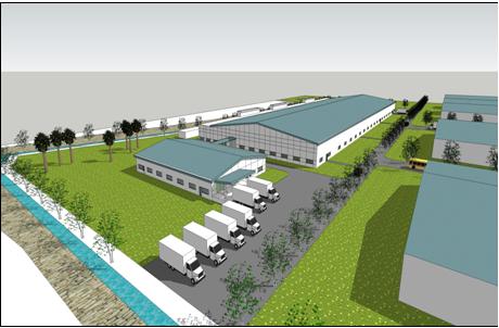 thị trường kho xưởng, sân bãi phát triển như các tòa nhà văn phòng cho thuê quận 1